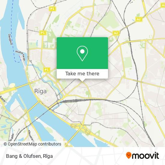 Bang & Olufsen map