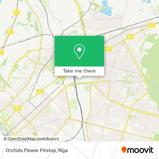 Orchids Flower Pitstop map