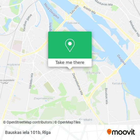 Bauskas iela 101b map