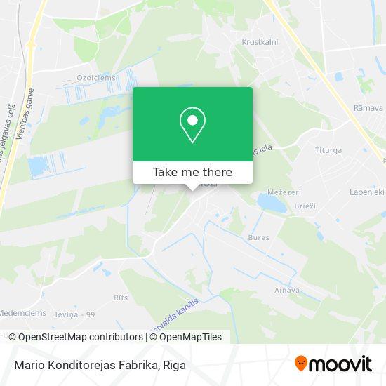 Mario Konditorejas Fabrika map