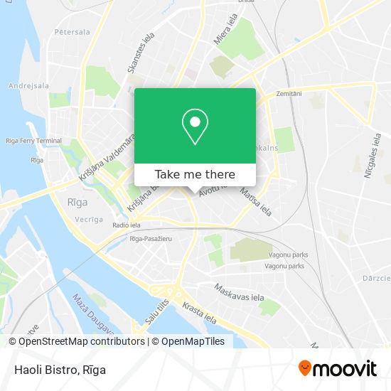 Haoli Bistro map