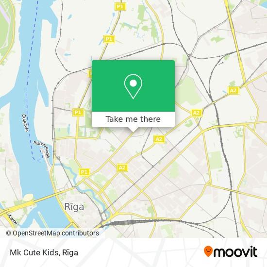 Mk Cute Kids map