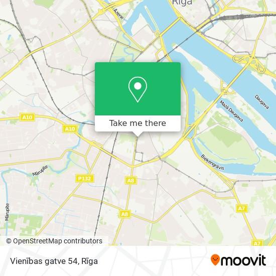Vienības gatve 54 map