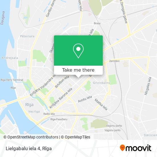 Lielgabalu iela 4 map