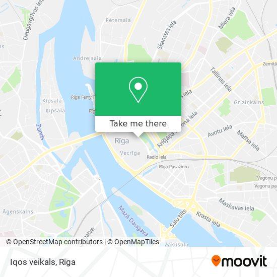Iqos veikals map