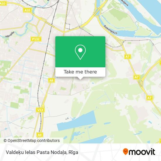 Valdeķu Ielas Pasta Nodaļa map