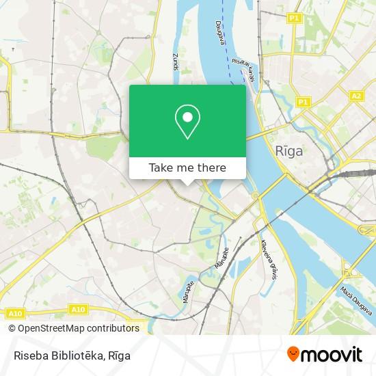 Riseba Bibliotēka map