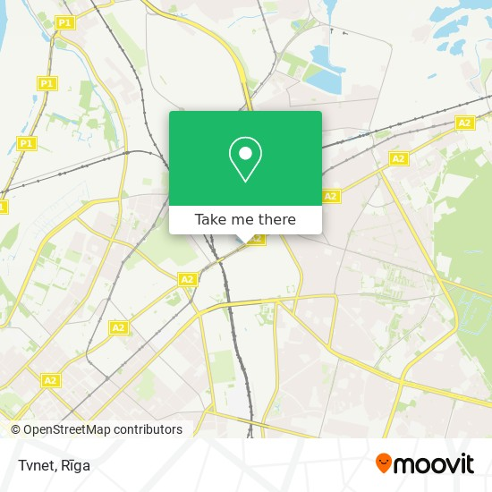 Tvnet map