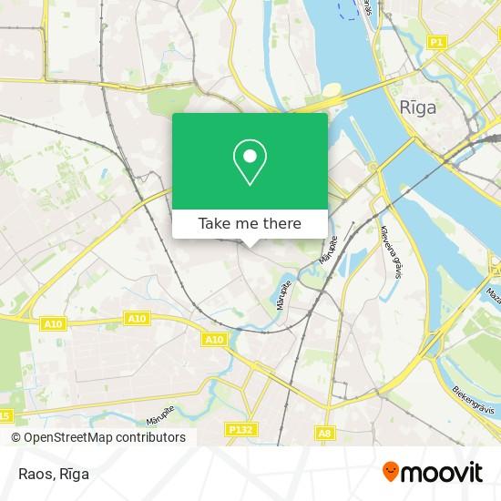 Raos map