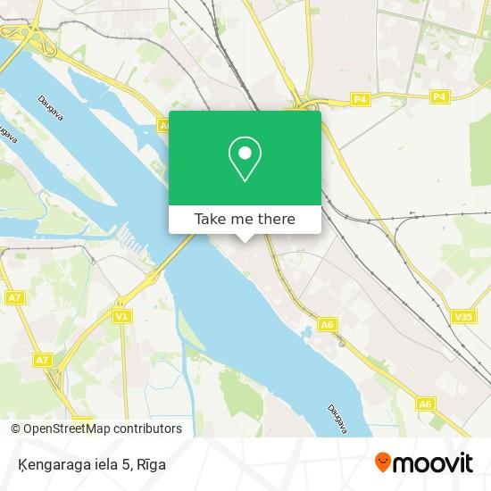 Ķengaraga iela 5 map