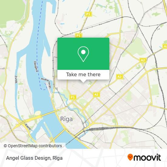 Angel Glass Design map