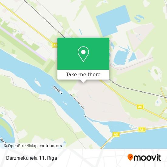 Dārznieku iela 11 map