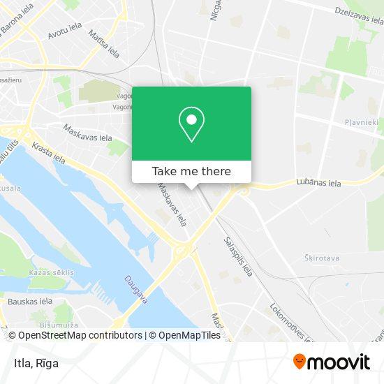 Itla map