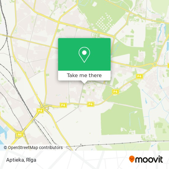 Aptieka map