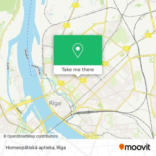 Homeopātiskā aptieka map