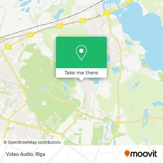 Video Audio map