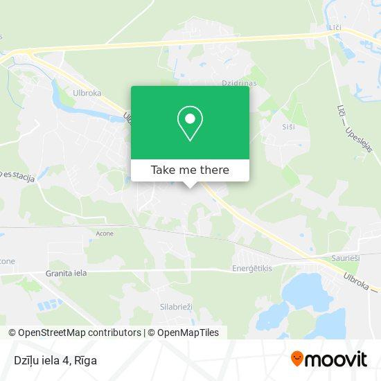 Dzīļu iela 4 map