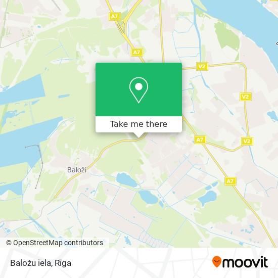 Baložu iela map