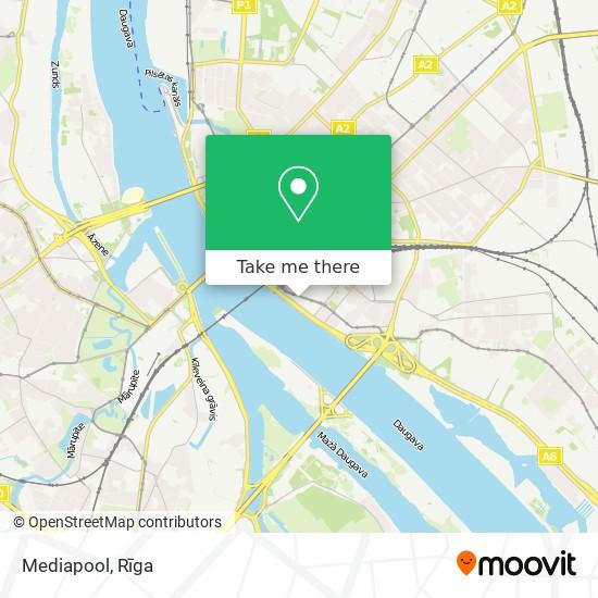Mediapool map