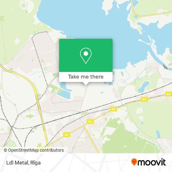Ldl Metal map