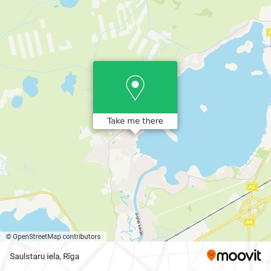Saulstaru iela map
