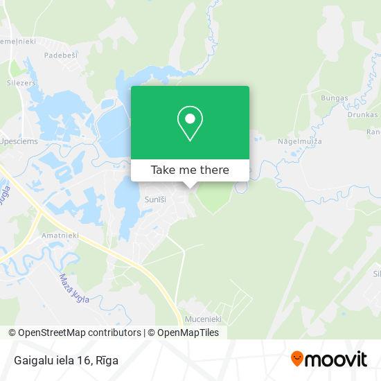 Gaigalu iela 16 map