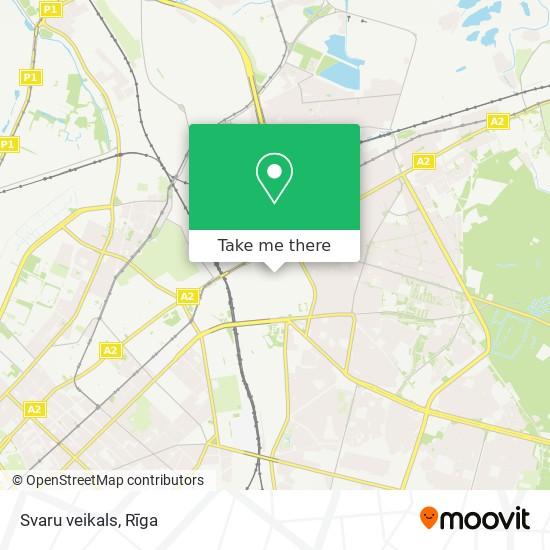 Svaru veikals map
