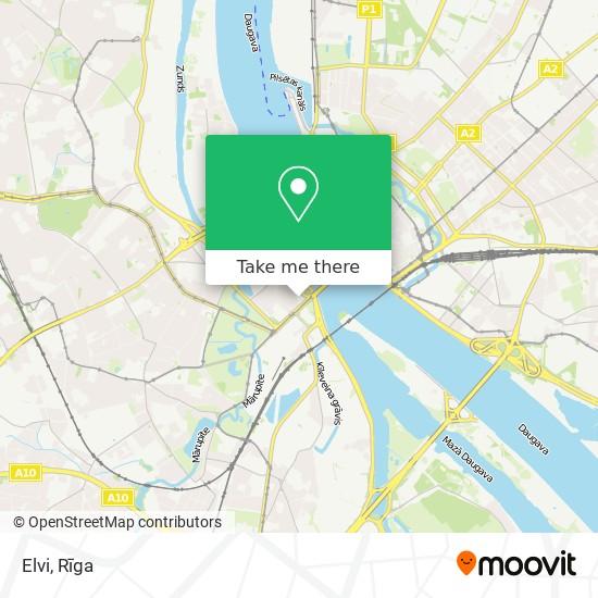 Elvi map
