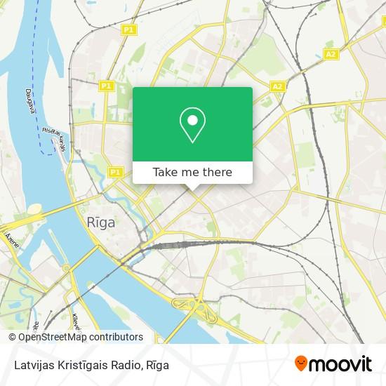 Latvijas Kristīgais Radio map