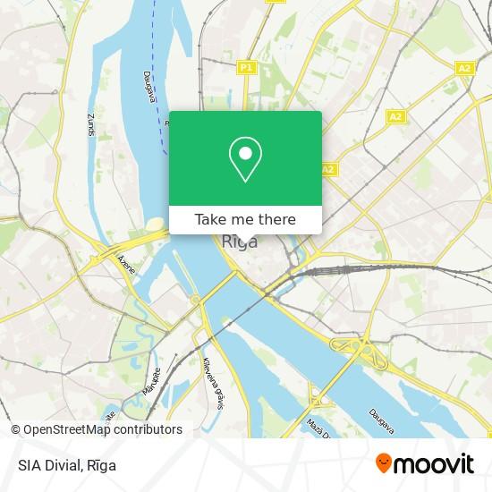 SIA Divial map