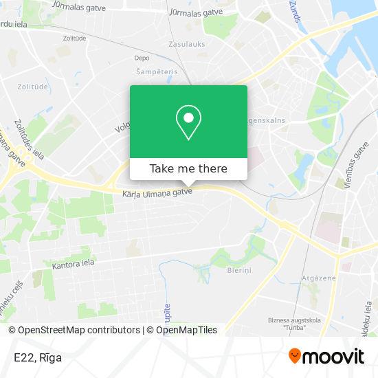 E22 map