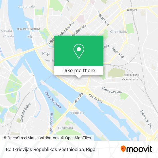 Baltkrievijas Republikas Vēstniecība map