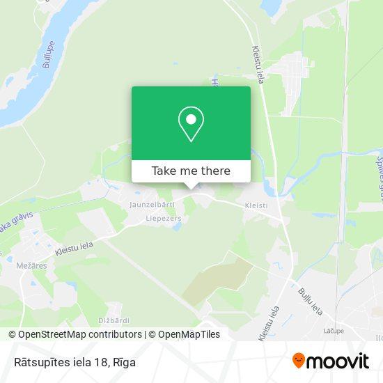 Rātsupītes iela 18 map