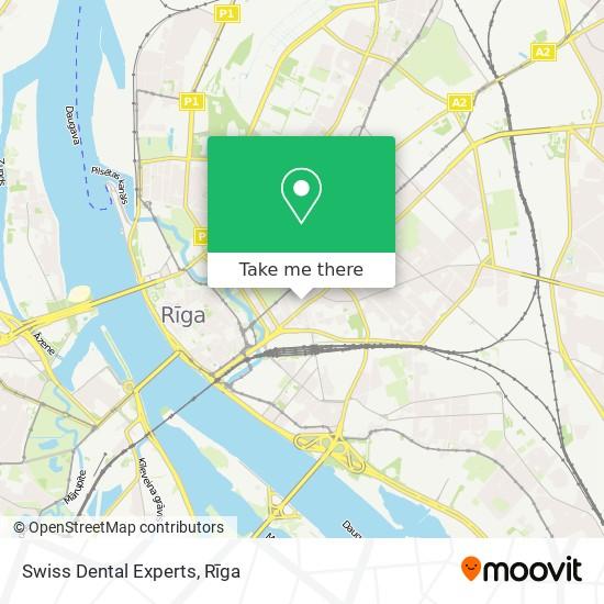 Swiss Dental Experts map