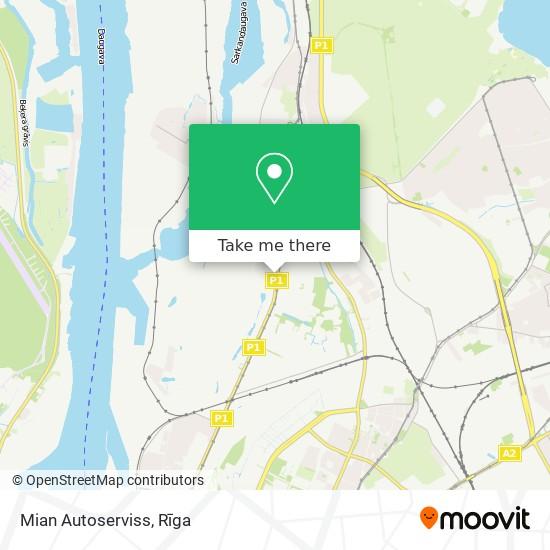 Mian Autoserviss map