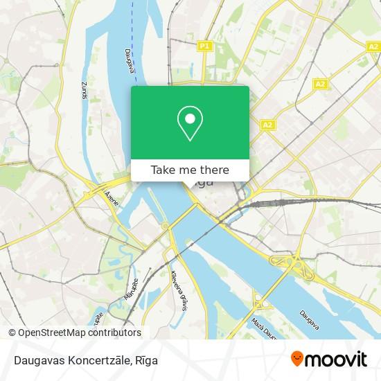 Daugavas Koncertzāle map