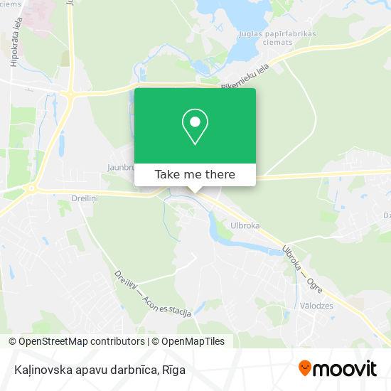 Kaļinovska apavu darbnīca map