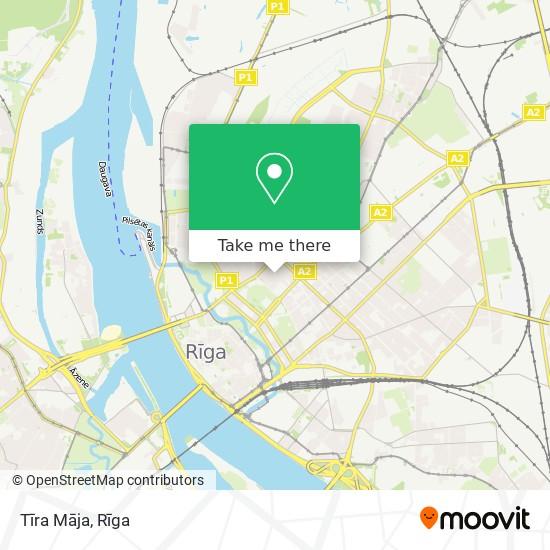Tīra Māja map
