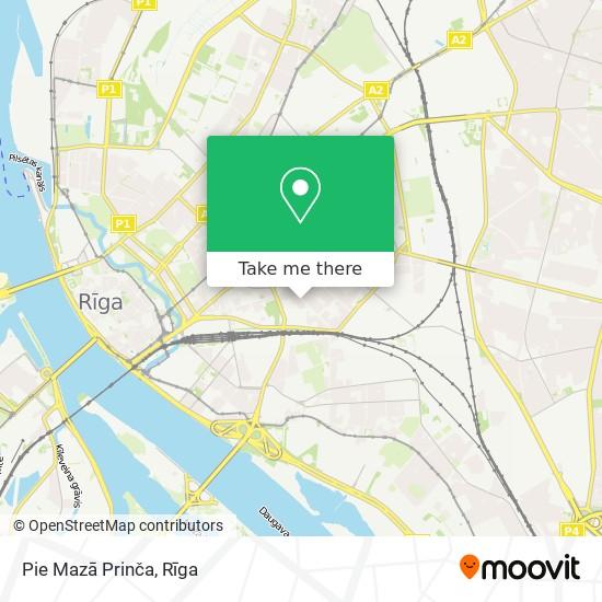 Pie Mazā Prinča map
