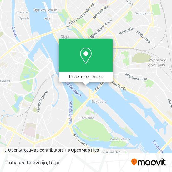 Latvijas Televīzija map