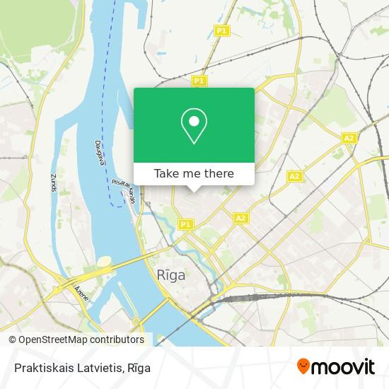 Praktiskais Latvietis map