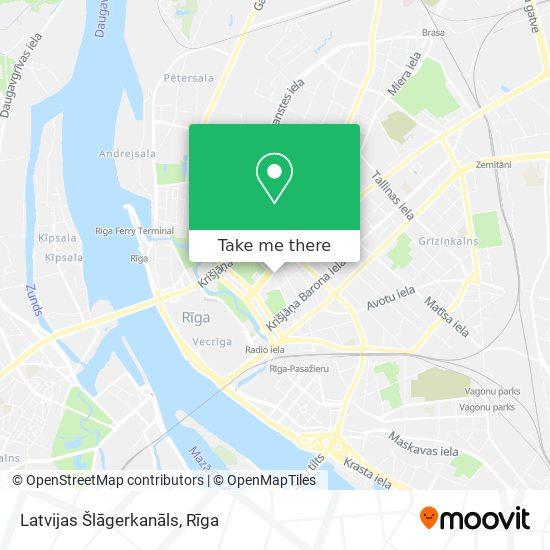 Latvijas Šlāgerkanāls map
