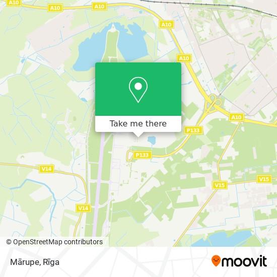 Mārupe map