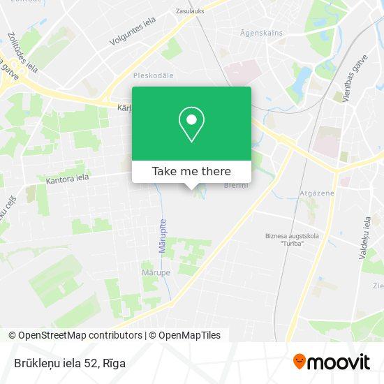 Brūkleņu iela 52 map