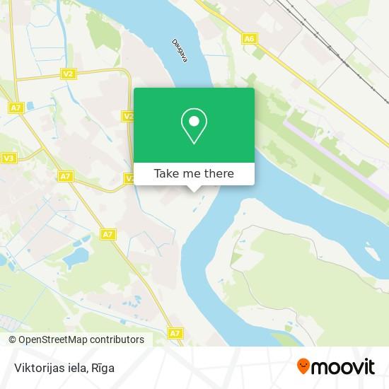 Viktorijas iela map