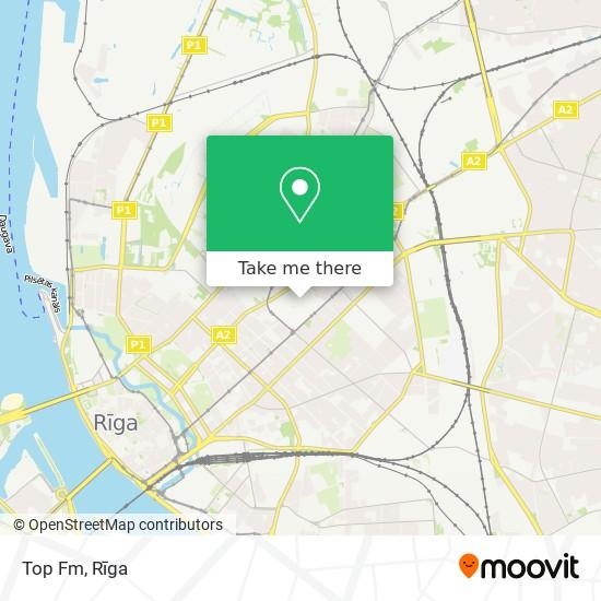 Top Fm map