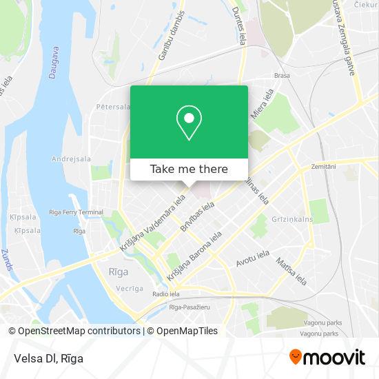Velsa Dl map