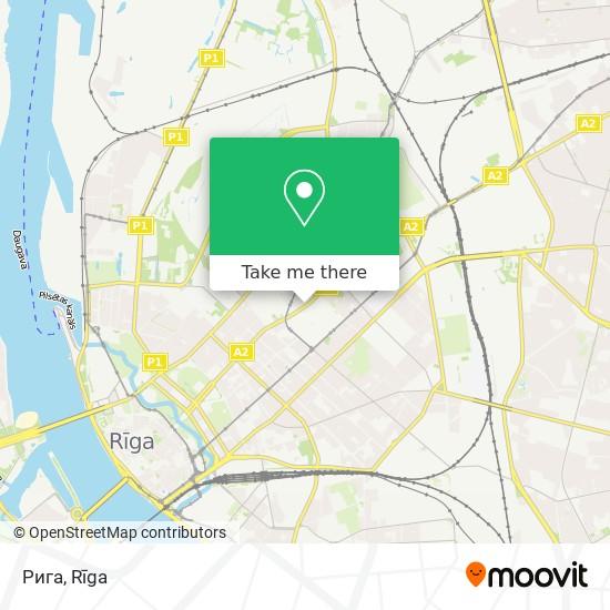 Рига map
