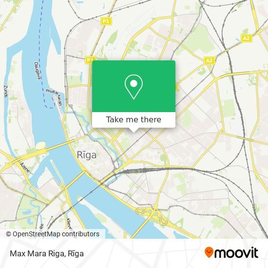 Max Mara Riga map