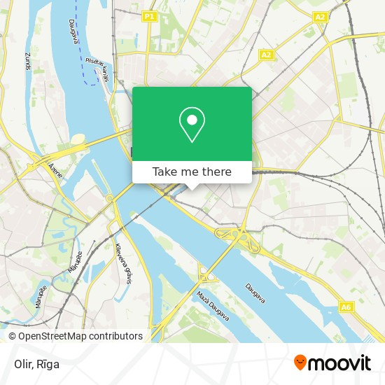 Olir map